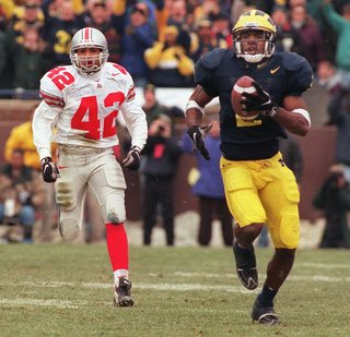 best website 35972 ce237 Michigan Football: #3 - Charles Woodson - The Difference Maker
