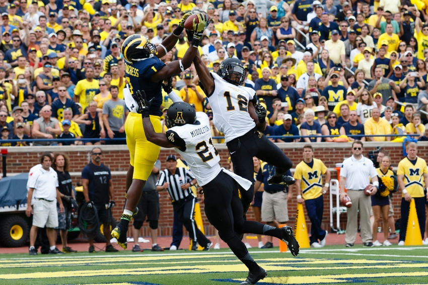 Michigan football 5 best michigan wide receivers in for M go fish